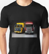 Old generation to new generation Scania trucks T-Shirt