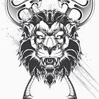 Wild lion by maximgertsen