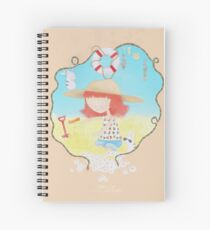 Summer Girl Spiral Notebook