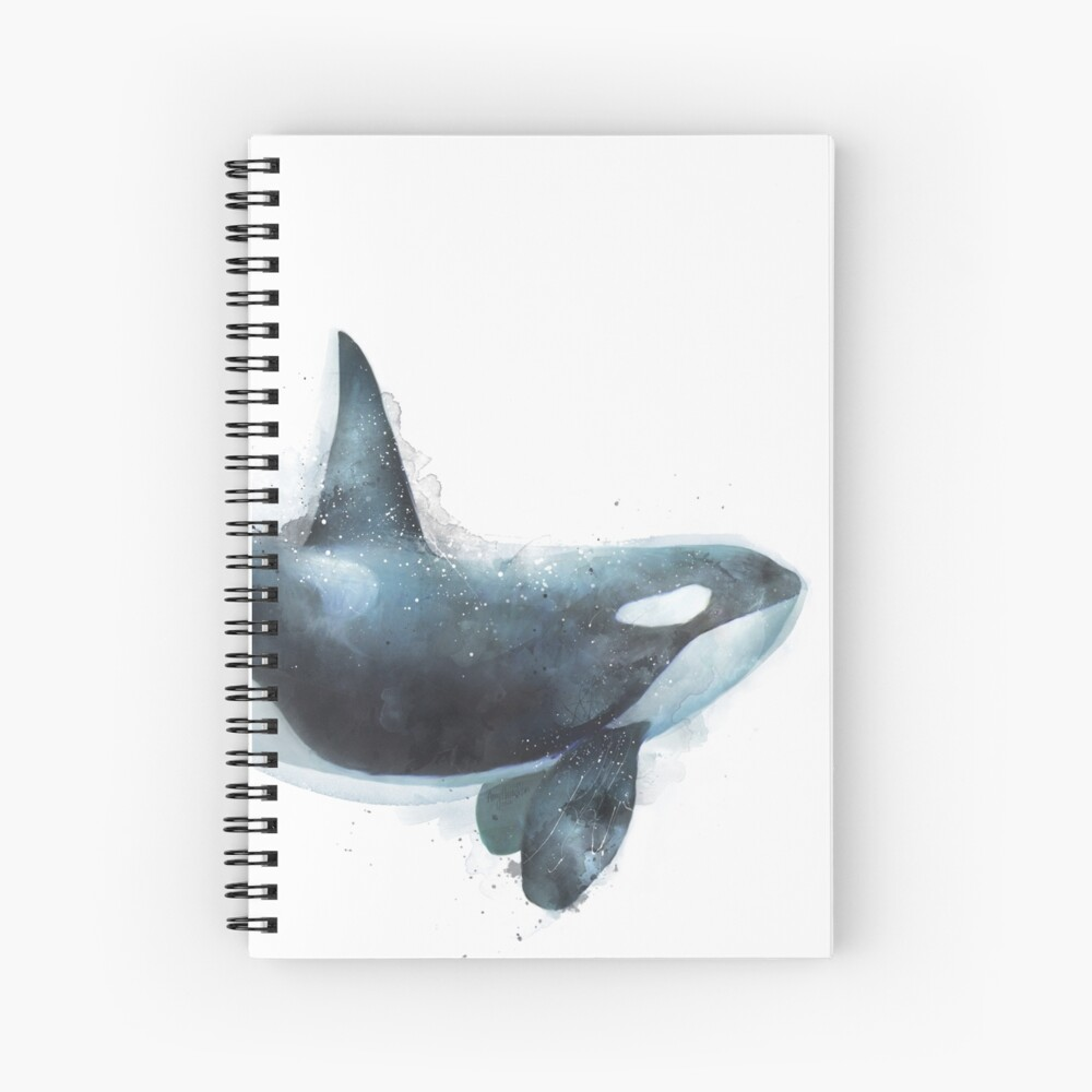 Orca Spiral Notebook
