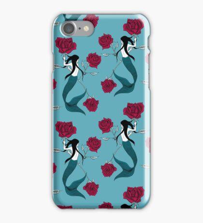 Mermaid Tattoo iPhone Case/Skin