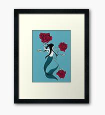 Mermaid Tattoo Framed Print