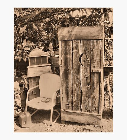 """""""OUTHOUSE AND NEXT IN LINE""""... prints and products Photographic Print"""
