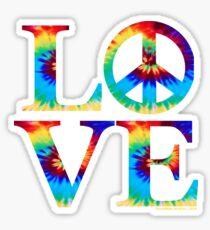 LOVE-TYE-DYE-001 Sticker