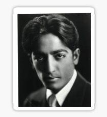 Jiddu Krishnamurti Sticker