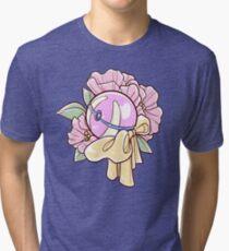 Floral Heal Ball Tri-blend T-Shirt