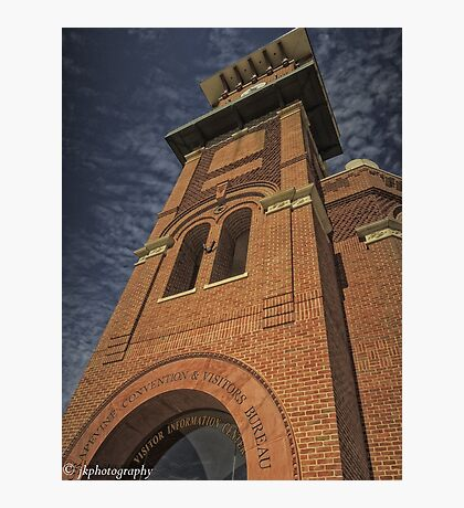 The Clock Tower, Grapevine, TX  Photographic Print