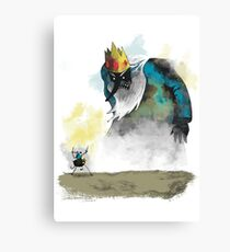 Adventure of Colossus Canvas Print