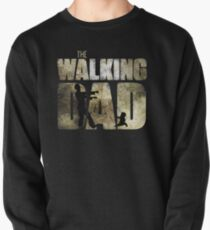 The walking dad Pullover