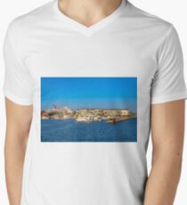 Key West Conch Harbor Mens V-Neck T-Shirt