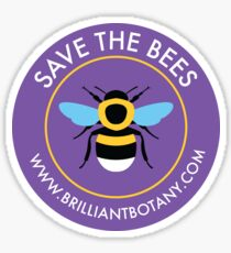 Save the Bees Sticker - Bumblebee Sticker