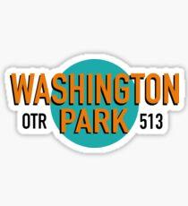 Washington Park, OTR, Cincinnati  Sticker