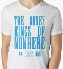 The Boney Kings of Nowhere -Blue Mens V-Neck T-Shirt
