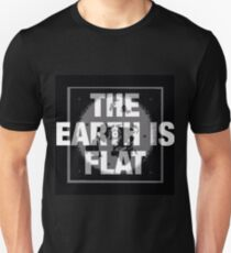 The earth is flat reality check Unisex T-Shirt