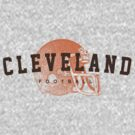 Cleveland Football by WeBleedOhio