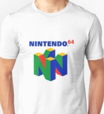 N64 Logo (With Text) T-Shirt