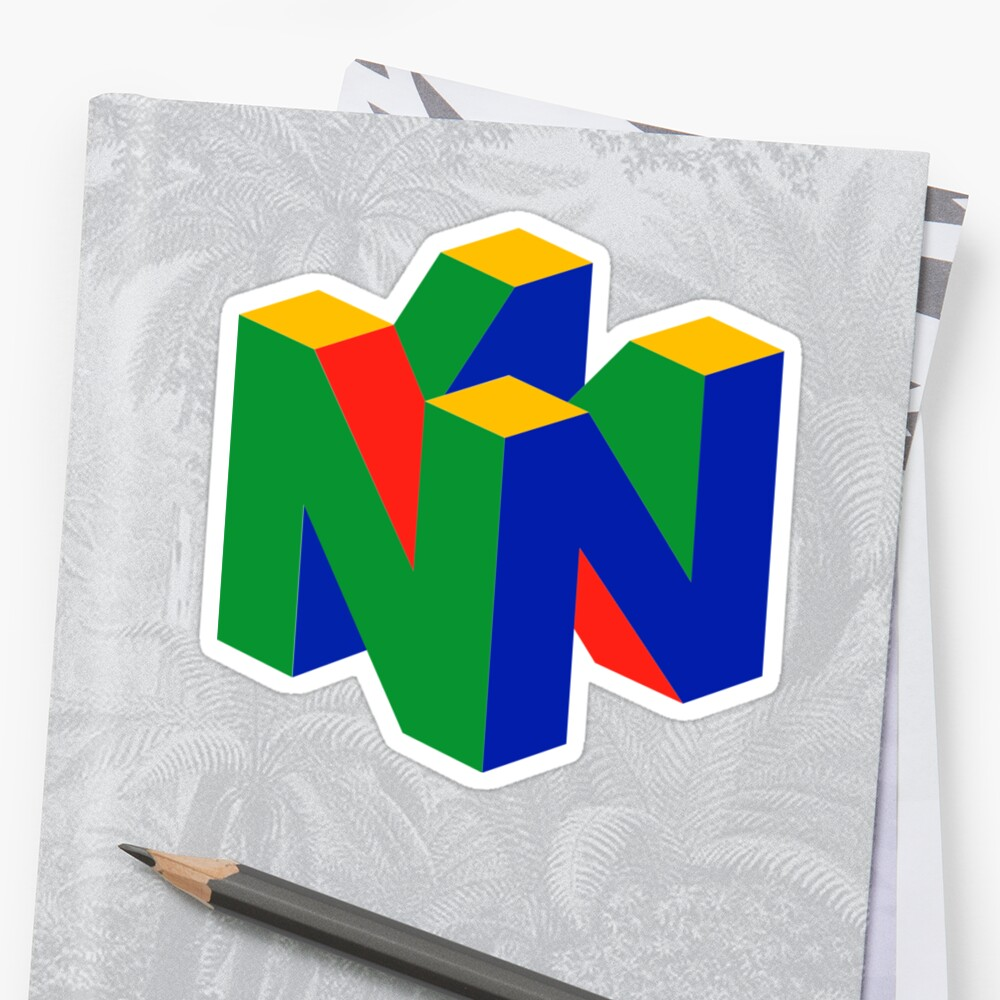 N64 Logo (Without Text) by OldSkooRebel