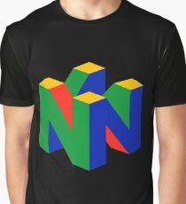 N64-Logo (ohne Text) Grafik T-Shirt