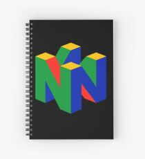 N64 Logo (Without Text) Spiral Notebook
