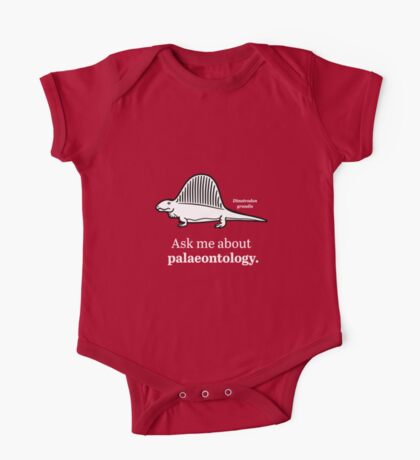 Ask Me About Palaeontology Kids Clothes