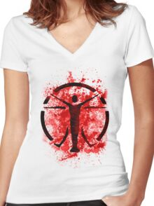 The Institute Women's Fitted V-Neck T-Shirt