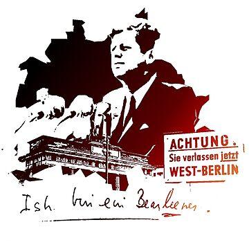 Ich bin ein Berliner by loveandtait