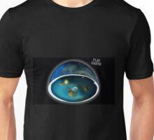 It's flat the earth,#flat earth  Unisex T-Shirt