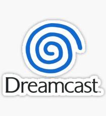 Pegatina Logotipo de Dreamcast (europeo, con texto)