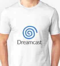 Dreamcast Logo (European; With Text) T-Shirt
