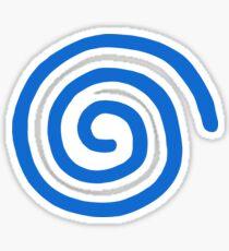 Pegatina Logotipo de Dreamcast (europeo, sin texto)