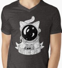 From The Skies Men's V-Neck T-Shirt