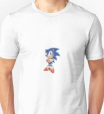 Cross Stitch Pixel Sonic The Hedgehog T-Shirt