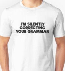 Geek Grammar School Smart Funny T-Shirts Unisex T-Shirt