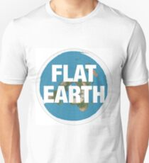 Flat earth, realise the truth T-Shirt