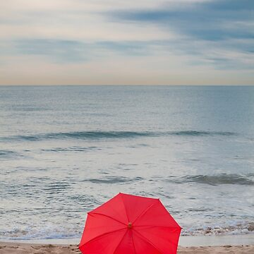 Red Umbrella by mariaheyens