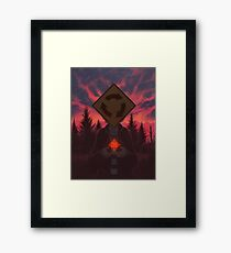 I Was Born In A Valley Of Freaks Framed Print