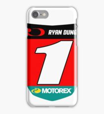 RD 1 Supercross champ plate iPhone Case/Skin