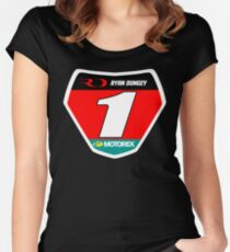 RD 1 Supercross champ plate Women's Fitted Scoop T-Shirt