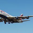 British Airways 747 by PlaneMad1997