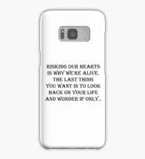 Risking our hearts  Samsung Galaxy Case/Skin