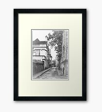 Street in Oxford  Framed Print