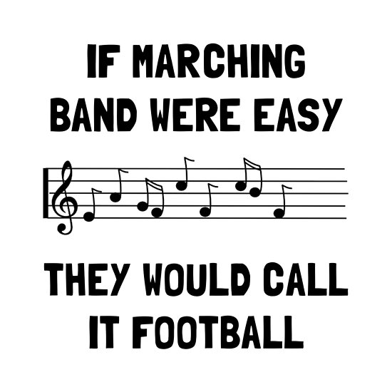 'Marching Band Easy' Poster by TheBestStore