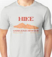 Camiseta unisex Caminata Camelback Mountain!