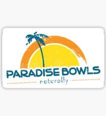 Pegatina Paradise Bowls