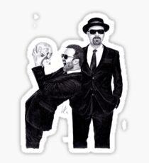 Aaron Paul & Bryan Cranston Sticker