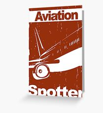 Aviation Spotter Greeting Card