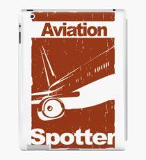 Aviation Spotter iPad Case/Skin