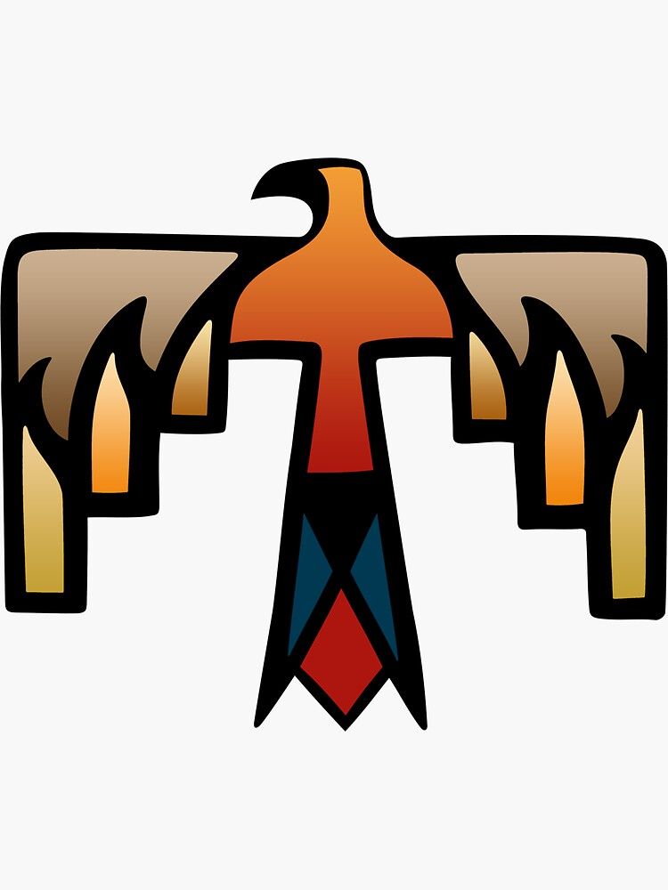 Quot Thunderbird Native American Indian Symbol Quot Sticker By