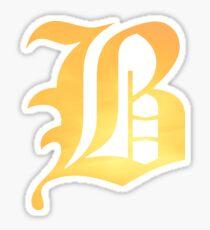 Beartooth - Fire Logo Sticker