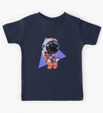 Cute Astronaut Character (Orange) Kids Clothes